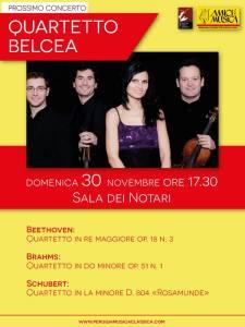 Belcea Quartet @ Sala dei notari | Perugia | Umbria | Italia