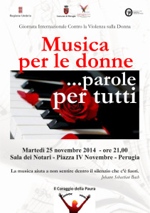 Musica per le donne...parole per tutti @ Sala dei notari | Perugia | Umbria | Italia