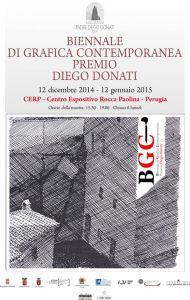 Biennale di grafica contemporanea premio Diego Donati @ CERP   Perugia   Umbria   Italia