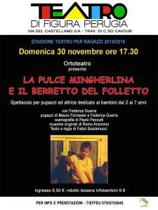 La pulce mingherlina e il berretto del folletto @ TEATRO DI FIGURA PERUGIA | Perugia | Umbria | Italia