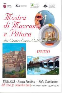 Mostra di Macramè e Pittura @ Rocca Paolona - Sala Caminetto | Perugia | Umbria | Italia