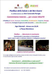 Piedibus della salute @ partenza da piazza Monteluce | Perugia | Umbria | Italia