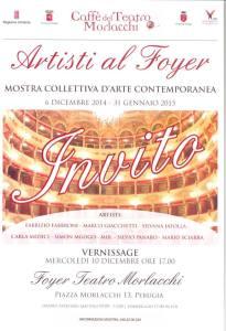 Artisti al Foyer @ Foyer Teatro Morlacchi   Perugia   Umbria   Italia