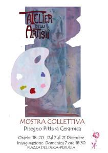 Mostra collettiva d'arte @ Atelier degli artisti   Perugia   Umbria   Italia