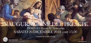 Inaugurazione Presepe @ Perugia   Umbria   Italia