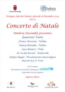 Concerto di Natale @ Sala dei Notari   Perugia   Umbria   Italia