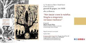 Non lasciar vivere la malefica. Streghe e stregoneria nel basso medioevo @ Fondazione Marini Clarelli Santi   Perugia   Umbria   Italia